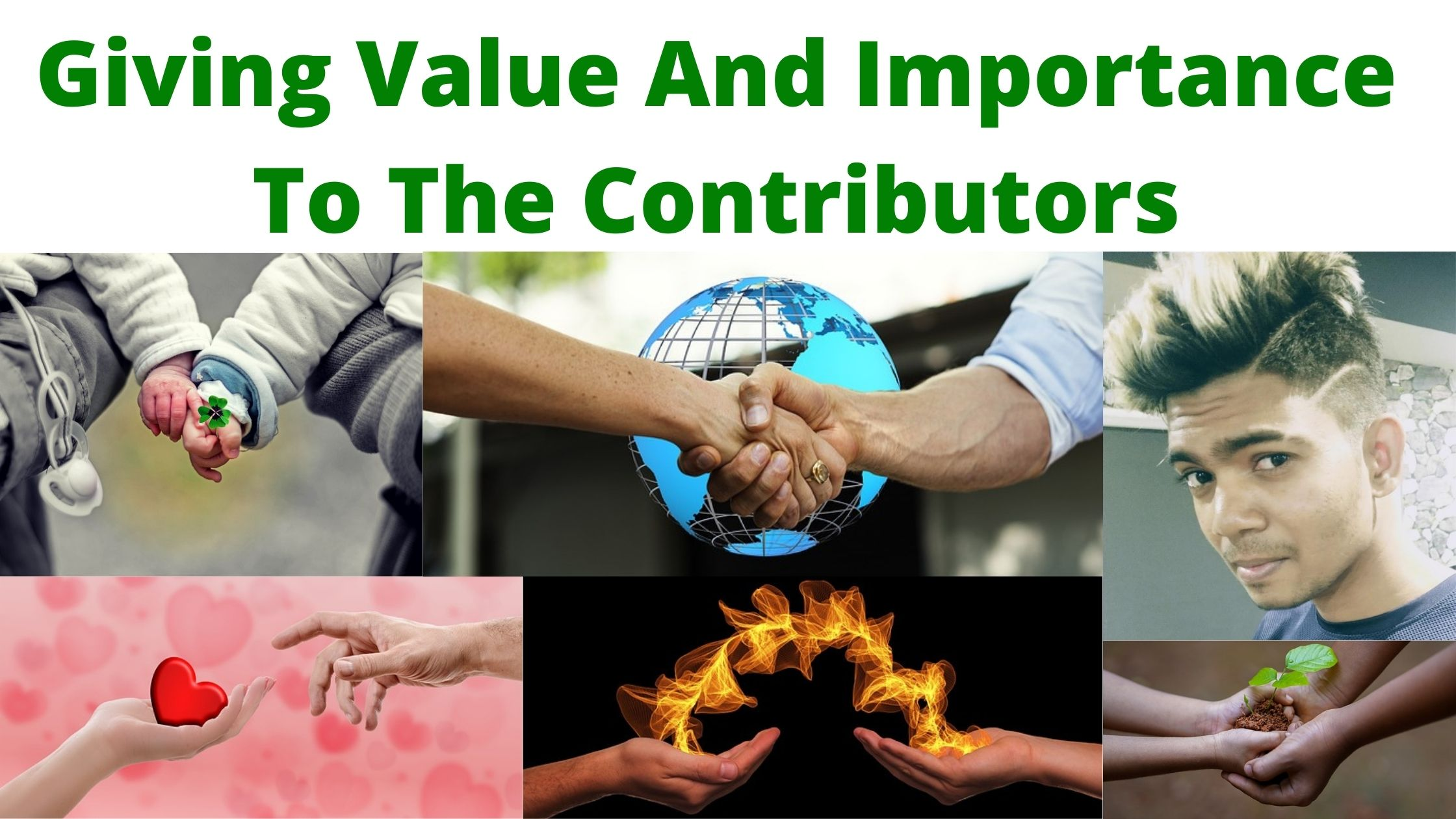 Giving Value And Importance To The Contributors